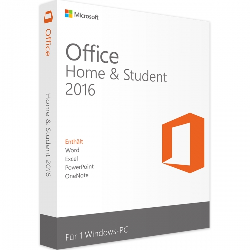 Microsoft Office 2016 Home and Student PKC Box