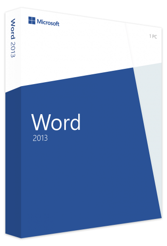 Microsoft Word 2013 PKC Box