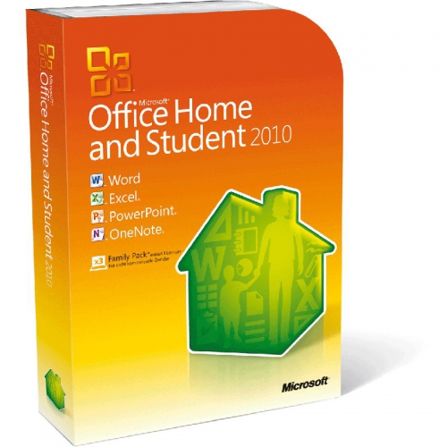 Microsoft Office 2010 Home and Student 1 PC, Box-Pack, inkl. DVD