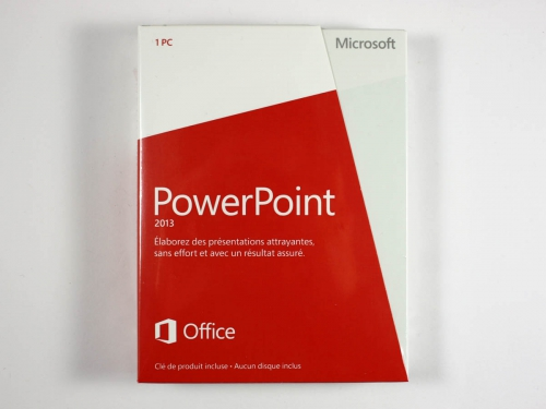 Microsoft Powerpoint 2013 PKC france, multilanguage