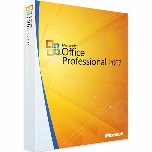 Microsoft Office 2007 Professional 1PC