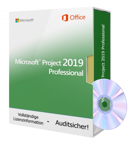 Microsoft Project 2019 Professional - DVD 1 PC