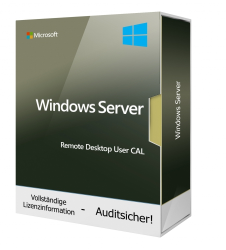 Windows Remote Desktop Server User CAL