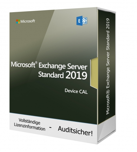 Microsoft Exchange Server 2019 Standard Device CAL