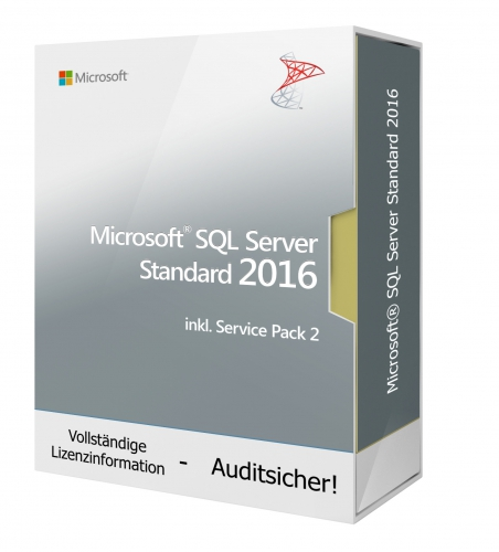 Microsoft SQL Server 2016 Standard Edition SP2