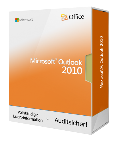 Microsoft Outlook 2010 1 PC