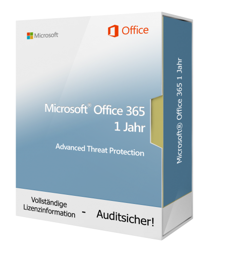 Microsoft Office 365 Advanced Threat Protection 1 Jahr