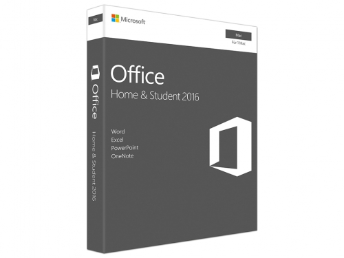 Microsoft Office 2016 Home & Student Mac PKC Box
