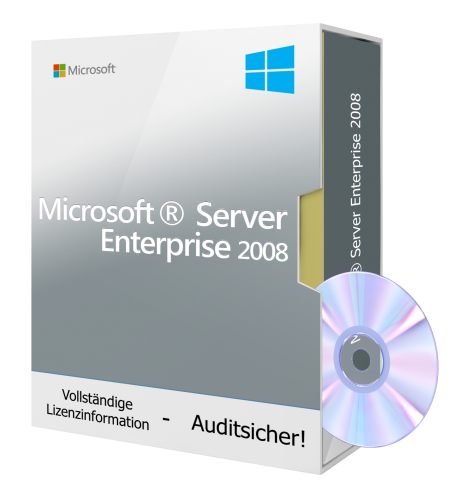 Microsoft Windows Server 2008 Enterprise  - ESD MLK