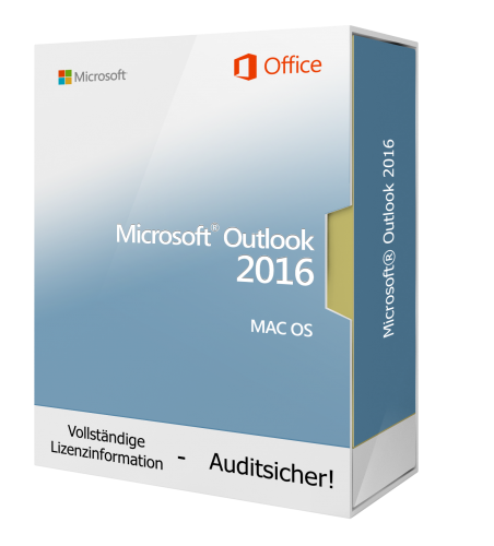 Microsoft Outlook 2016 für Mac 1 PC