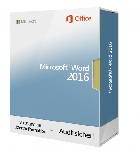 Microsoft Word 2016 DVD - 1 PC