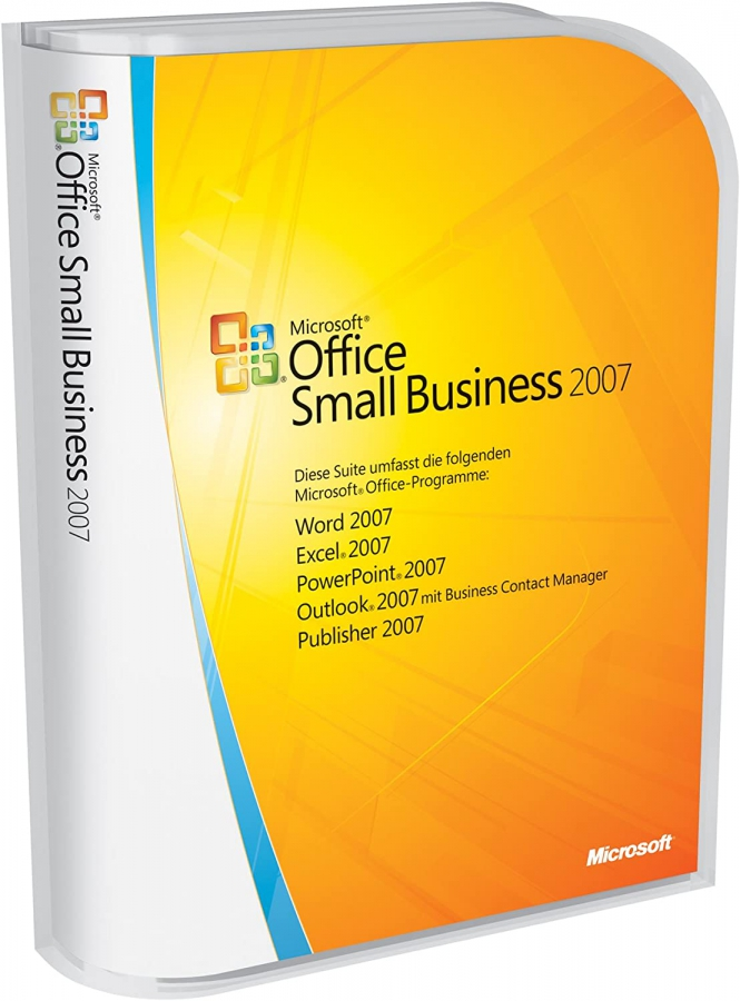 Microsoft Office 2007 Small Business 1PC
