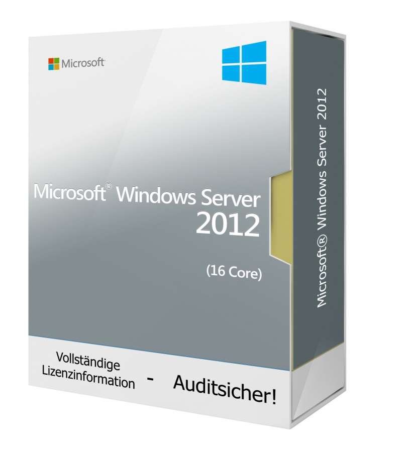 Microsoft Windows Server 2012 (16 Core)
