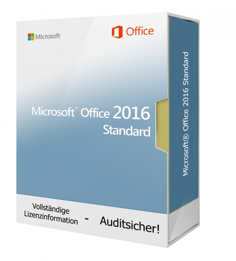 Microsoft Office 2016 Standard - Download 1 PC