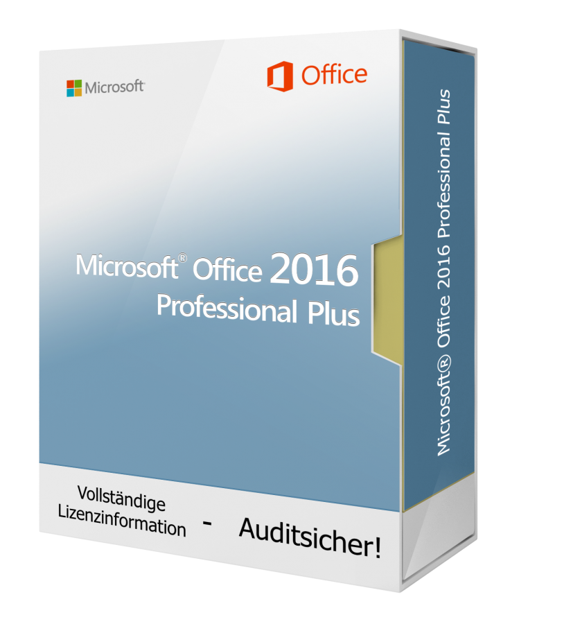 Microsoft Office 2016 Professional Plus 1PC Download Lizenz