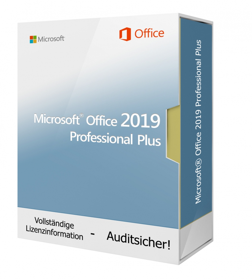 Microsoft Office 2019 Professional Plus - Download 1 PC