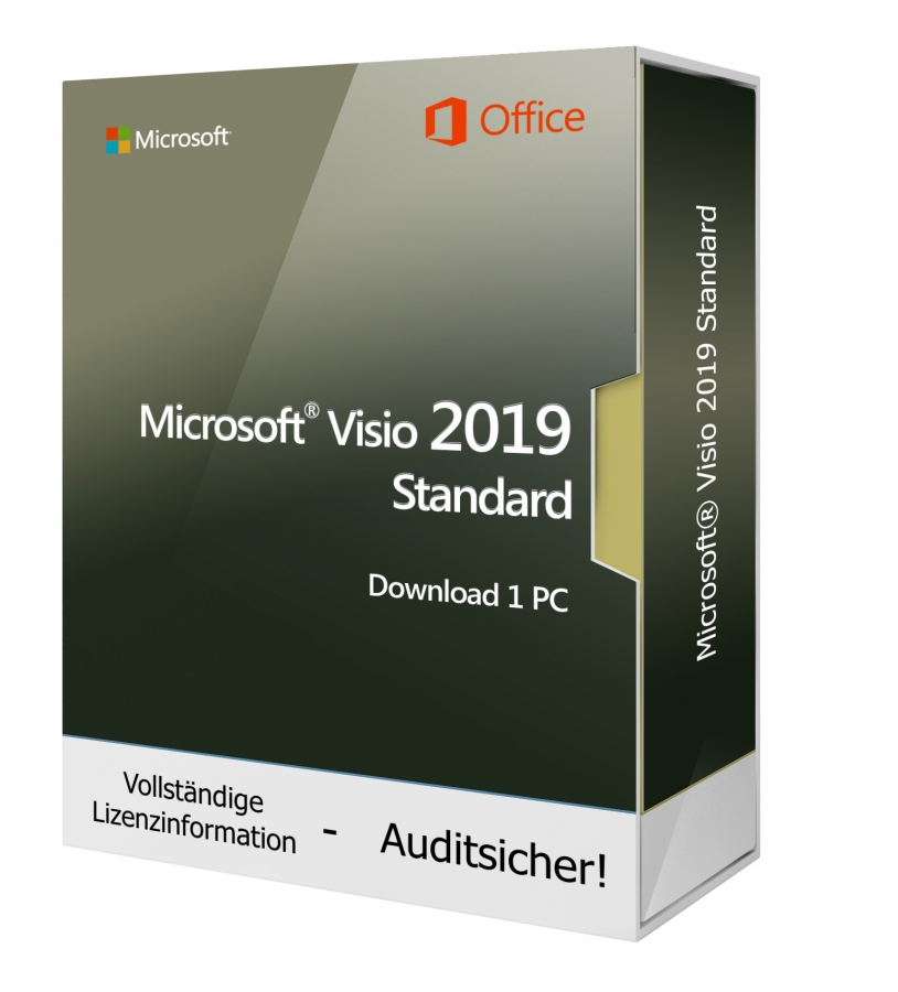 Microsoft Visio 2019 Standard 1PC Download