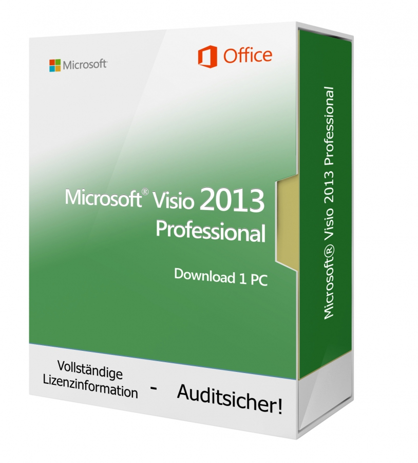 Microsoft Visio 2013 PROFESSIONAL - Download 1 PC