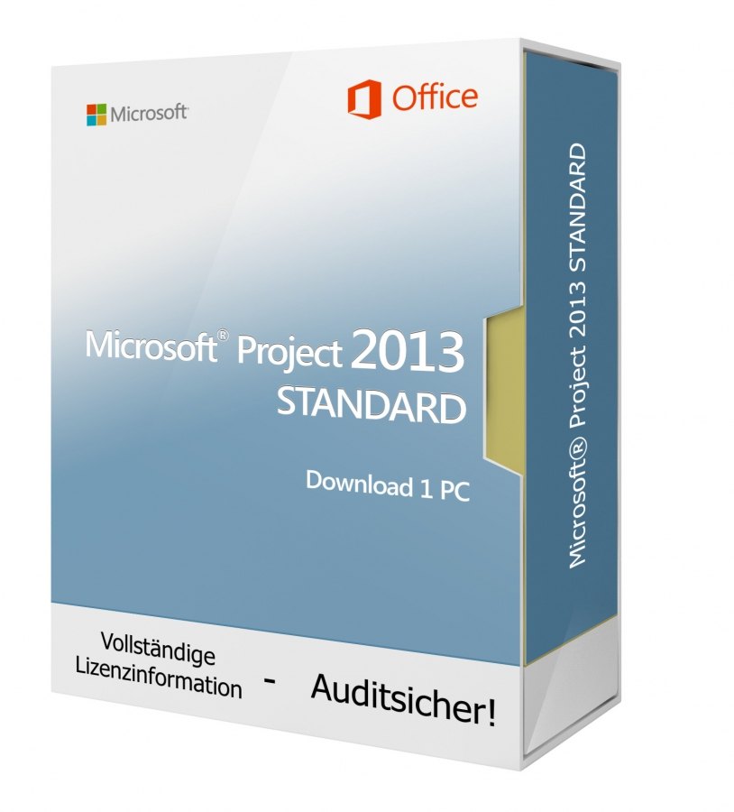 Microsoft Project 2013 STANDARD- Download 1 PC
